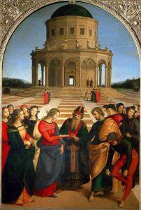arte matrimonio della Vergine Maria