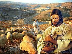 Gesu e le pecore